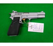 BROWNING HI POWER Sport Chrome 9mm como NOVA !!!