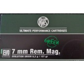 Munições RWS 7mm EVO GREEN 127gr/8.2gramas