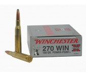 Munições de Caça Grossa Winchester 270 Win Power Point (150Gr)