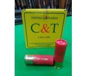 Cartuchos C&T 32 Gr. Dispersor  Calibre 12 Ch9 ao Ch5