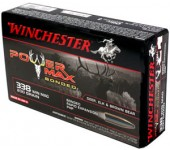 MUNIÇÕES DE CAÇA GROSSA WINCHESTER .338WIN MAG 200GRAINS POWER MAX