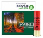 Cartuchos Bornaghi cal.28 SEMI MAG. 28GR. CH.6