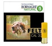 CARTUCHOS BORNAGHI FELT CAL.20 30GR
