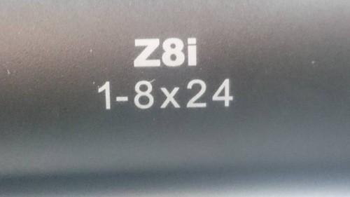 Mira Swarovski Z8i 1-8x24 Recticulo  iluminado