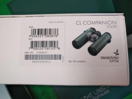 Binoculos Swarovski CL Companion 10 X 30