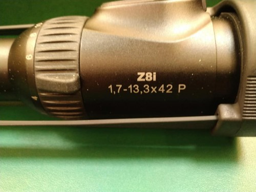Mira Swarovski Z8i 1,7-13.3X42 Recticulo  iluminado